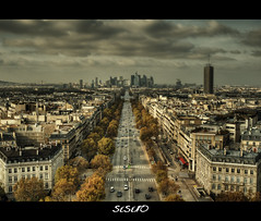 city travel trees light people paris france cars clouds... (Photo: SIsifo73 on Flickr)