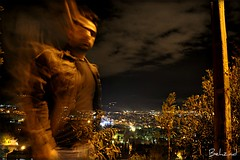 Night Shot (Behzad No) Tags: life tree rain night clouds alone iran live shiraz fars nikond90