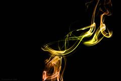 Fire (Smoke 4) (skippys1229) Tags: canon canonrebelt1i rebel rebelt1i t1i ocala ocalafl ocalaflorida marioncounty marioncountyfl smoke smokephotography multicoloredsmoke multicolor incense strobist fire