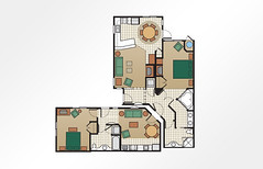 Cibola Vista Resort and Spa 2-Bedroom Combined - 1,440 sq ft