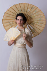 IMG_2673 (VintageReveries) Tags: blackandwhite fashion vintage fan lace retro parasol fashionmodel oldlace lacedress retrophotography edwardiandress turnofthecenturyfashion