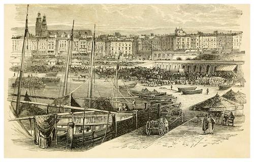 002-Puerto de Barcelona-Spain-1881-Edmondo De Amicis-ilustrado por W. Vilhelmina Cady