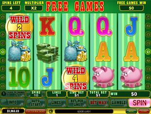 free Mr. Cashback slot free spins bonus