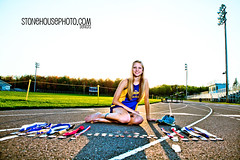 Track Star Senior Portrait