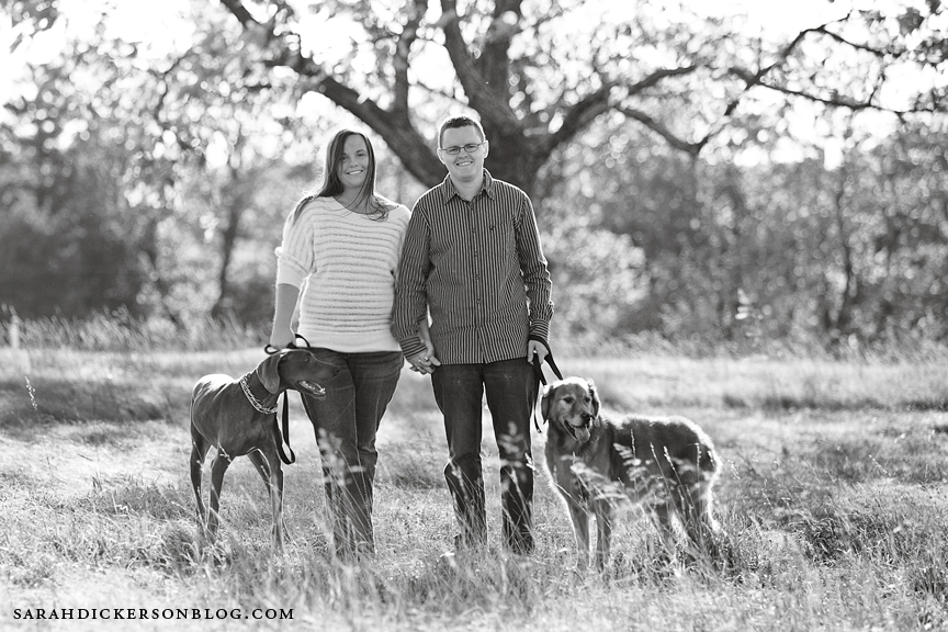 Shawnee Mission Park engagement photos