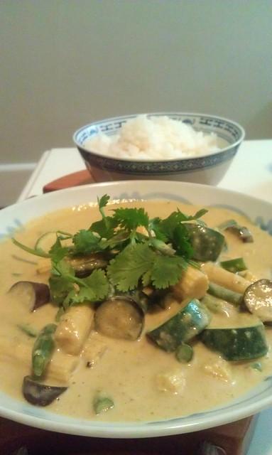 Aaron's thai curry