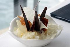 ewe's milk ice cream (David Lebovitz) Tags: restaurant chocolate sydney australia quay caramel icecream petergilmore milkskin ewemilk