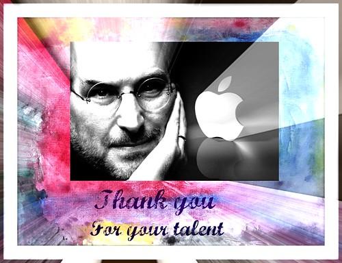 Steve Jobs....Merci pour nous tous!