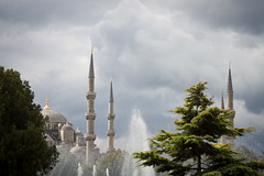 Blue Mosque Istanbul (phipag) Tags: blue storm day istanbul mosque blaue moschee