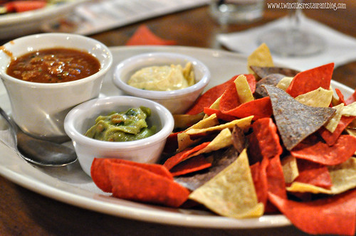 Trio of Dips and Chips at Axel's Bonfire ~ St Paul, MN