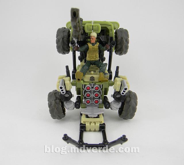 Transformers Sandstorm DotM Human Alliance - modo Plataforma de Artillería