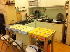 IKEA FÖRHÖJA 廚房推車