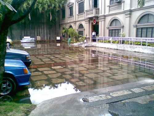 Flooded Bldg 1 Entrance