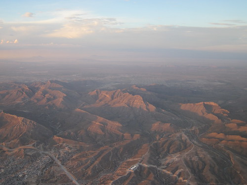 Aerial Picture Over Ciudad Juarez