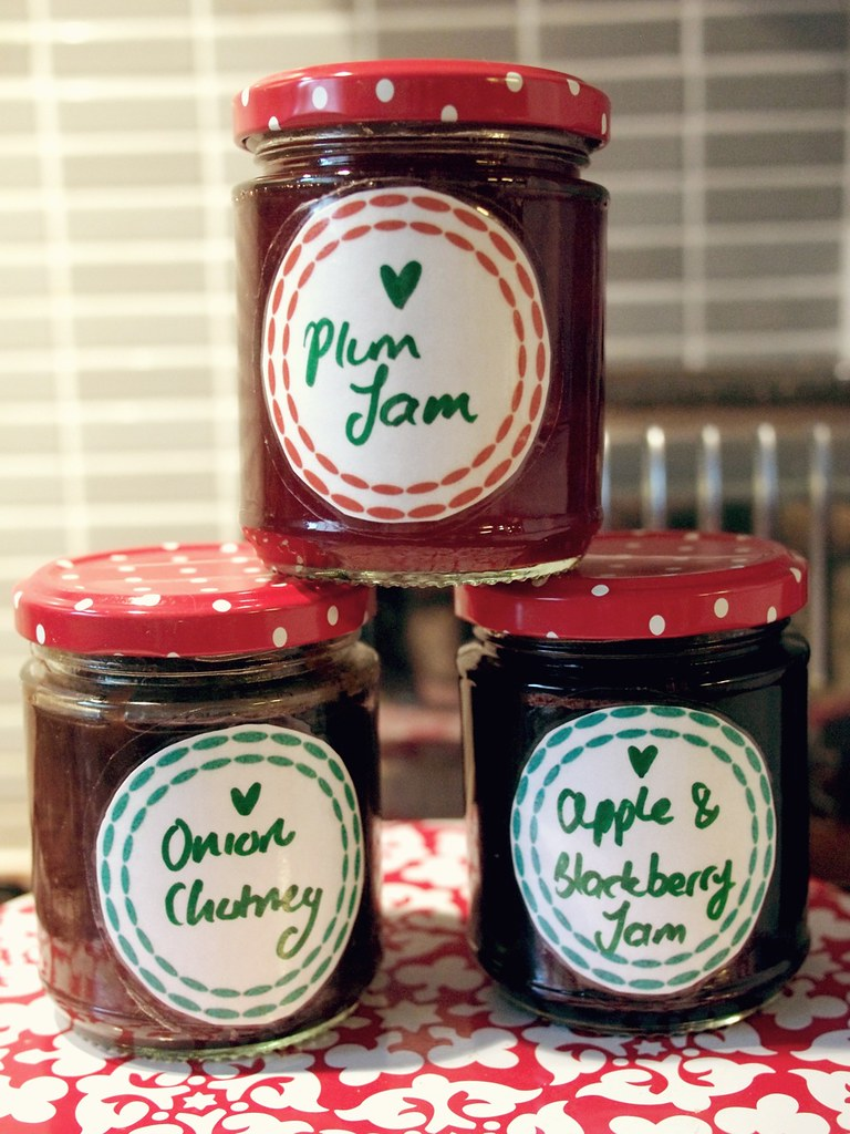 making jam & chutney