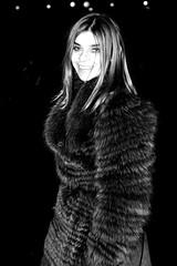 Carine Roitfeld at DVF B&W (rachel.photo) Tags: nyc newyorkcity tents bryantpark fashionweek frenchvogue carineroitfeld nyfw