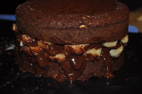Chocolate-Banana-Decadence Cake
