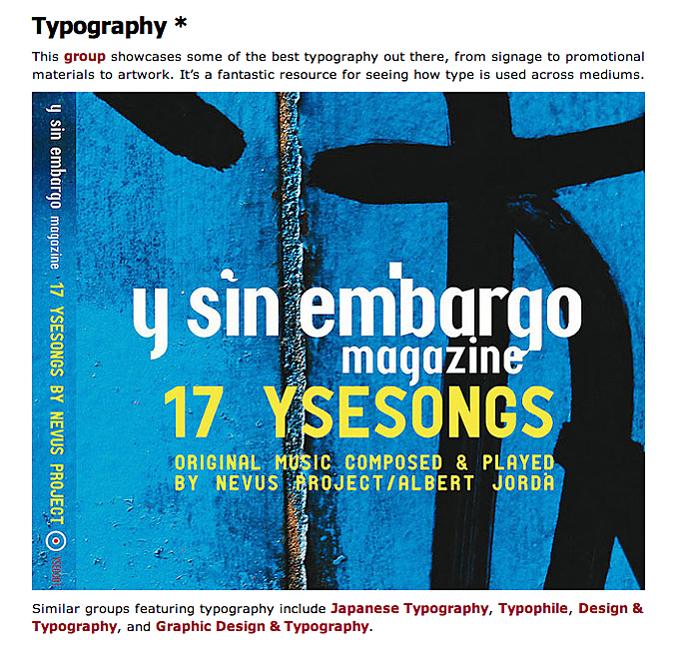 YSE typography @ WebDesignerDepot