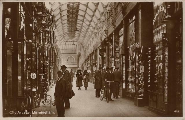 649. City Arcade, Birmingham (c.1928)