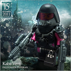 October 15 - Kaba Venti, Pale-Lands Veteran (Morgan190) Tags: snow black cold halloween soldier scary october advent calendar lego north creepy armor minifig minifigs custom veteran northern arealight brrrrr kaba venti m19 minifigure 2011 brickarms morgan19 morgan190 amazingarmory palelands