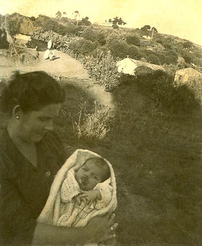 Javier Aranda de recien nacido en Marruecos