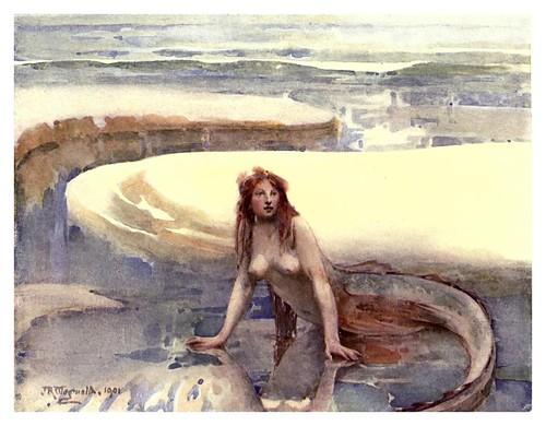 003-El arco iris en la curva de la arena- J.R. Weguenlin-The old Water-Colour Society-1905-Charles Holme
