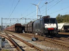 MRCE 189-287 at Amsterdam Westhavens, October 15, 2011 (cklx) Tags: amsterdam 189 txl coaltrain mrce br189 westhavens kolentrein