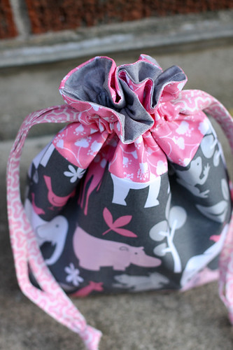 Drawstring Pouch by jenib320
