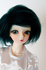 new eyes and wig (Nareshe's Dolls) Tags: acrylic bjd abs msd planetearth furwig actiondoll hujoo monstrodesigns alicescollections safrinnadira
