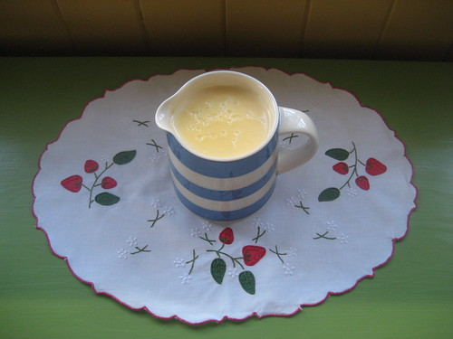proper custard