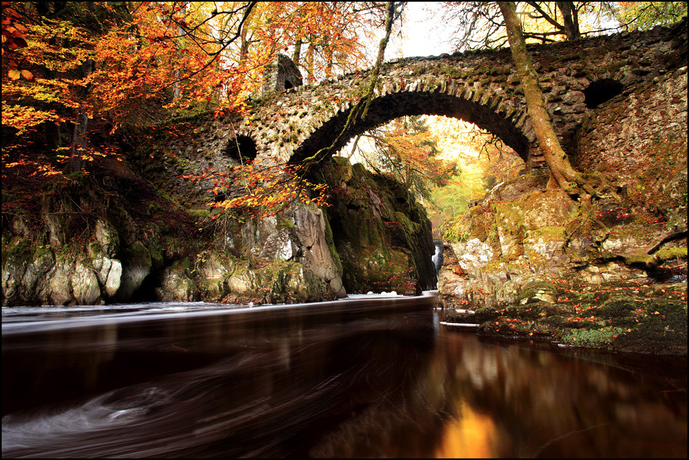 Autumn Colours Hermitage Bridge