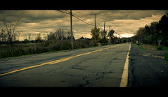 The Road (Cthulhu79) Tags: road clouds canon 50mm overcast asphalt cinematic xsi 450d ef50mm18ii