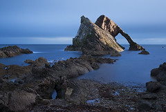 Bow Fiddle Rock at Daybreak (Geoff France) Tags: scotland highlands moray portknockie moraycoast scotlandslandscapes landscapelovers