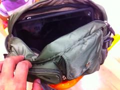 ユニクロのショルダーバッグ