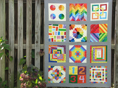 Front of Donation Quilt