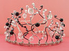 "Blinged-out Black Swan Tiara • <a style=""font-size:0.8em;"" href=""http://www.flickr.com/photos/30660085@N02/6263989746/"" target=""_blank"">View on Flickr</a>"