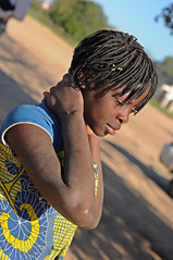 Caressed by the sun (Big Mico) Tags: africa girl 50mm nikon child 14 50 favourite nero mozambique ragazza afrique bambina mozambico d90