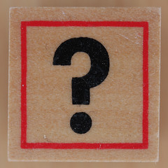 Rubber Stamp question mark