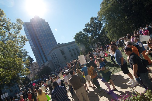 Occupy Raleigh! (Photo: kakissel, flickr)