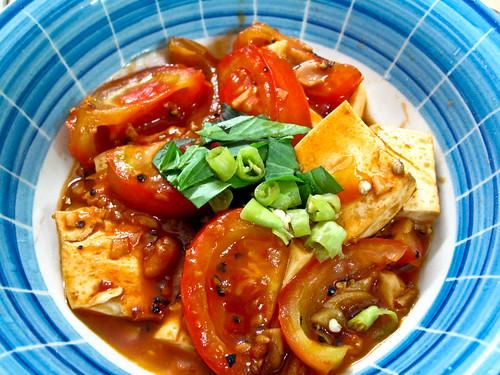 IMG_1942 Tofu + tomato