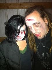 zombie barn party! (drewdomkus) Tags: party barn dawn drew photostream dawnanddrew miceli domkus dawnapadrewza wiskullsin dpdza