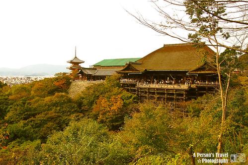 明信片景點之一.清水寺