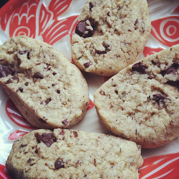 Gluten free quatre epices shortbread