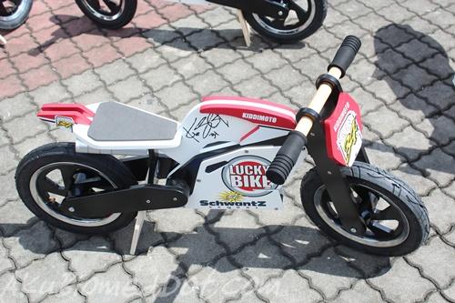 Motorsikal kayu daripada Kiddimoto