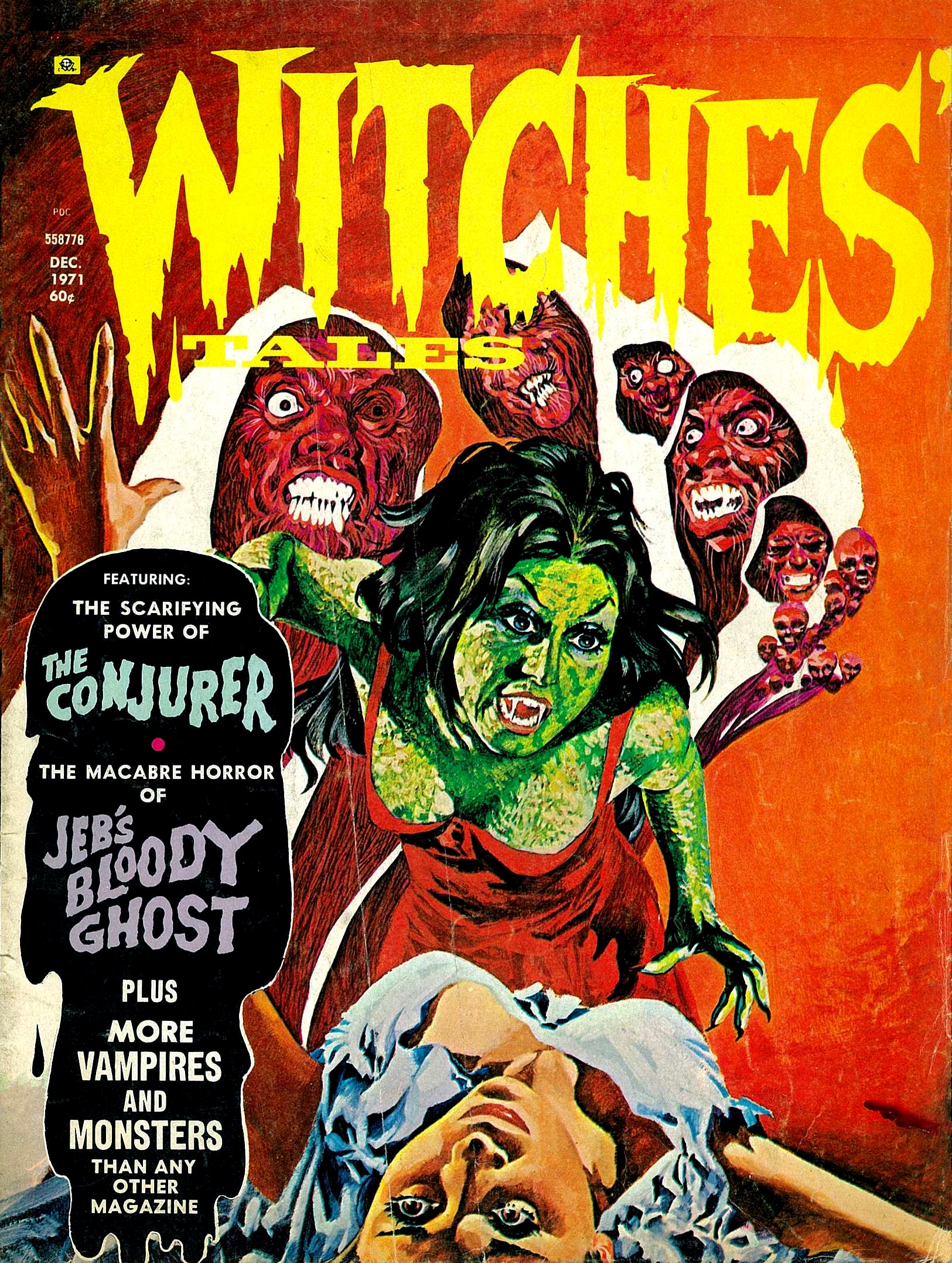 Witches' Tales Vol. 3 #6  (Eerie Publications 1971)