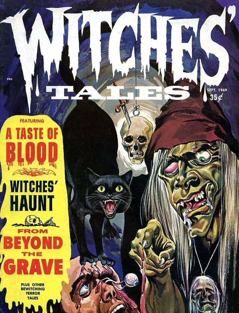 Witches' Tales Vol. 1 #8 (Eerie Publications 1969)
