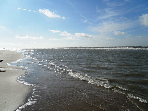 The coastline @ Bergen aan Zee