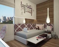 Quarto Teen Feminino (Tiago Crisostomo) Tags: design bedroom designer adolescente teen tiago quarto menina interiores decoração teenage crisostomo suíte