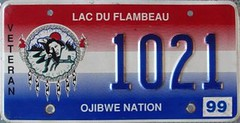 Lac Du Flambeau Ojibwe Nation Veteran License Plate (Suko's License Plates) Tags: plaque native indian nation band plate tribal licenseplate license tribe veteran placa patente targa matricula kennzeichen lacduflambeau ojibwe targhe numbertag nummerschild plaqueimmatriculation triballicenseplates indiantribeslicenseplates lacduflambeauojibwe