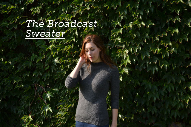 The Broadcast Sweater